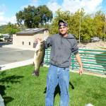 James Miller, Clearlake, 7.58 lbs, Spinnerbait